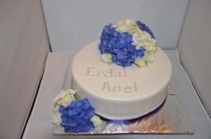 Verlobung blau